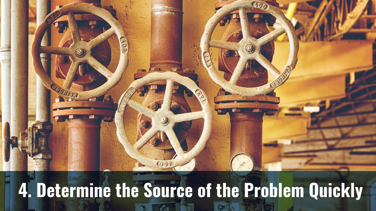 Determine the Source of the Problem Quickly