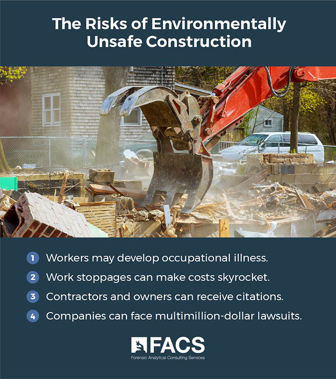 4 Risks of Environmentally Unfriendly Construction Projects