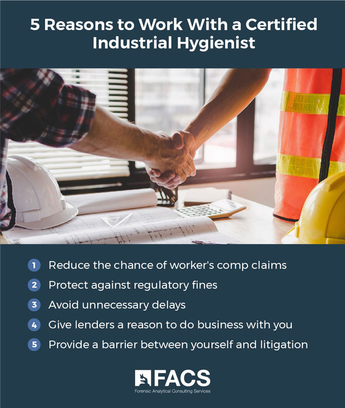 5 Reasons Why You Should Always Work With a Certified Industrial Hygienist