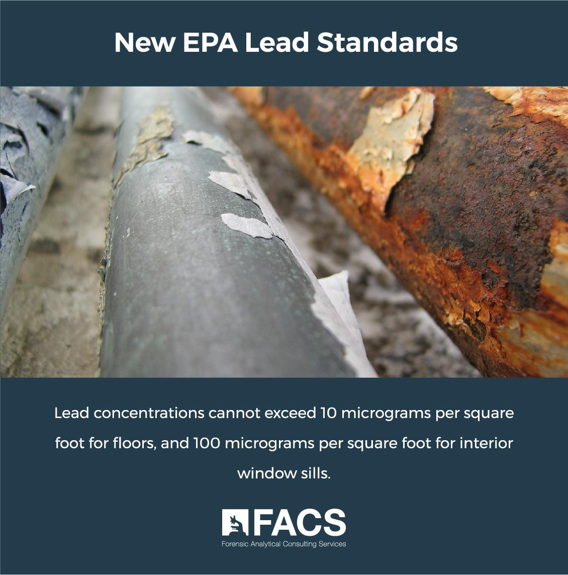 New EPA Lead Standards